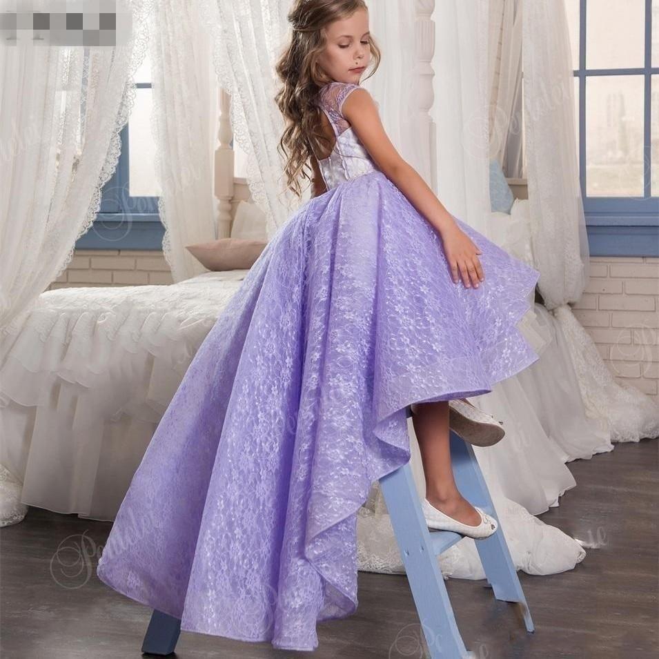 Vestidos de fiesta para ninas lila – Vestidos de noche populares ...