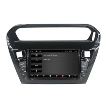 For Quad core capacitive multi-touch screen Peugeot 301 car dvd player GPS with WiFI+Radio+BT phonebook+Canbus+USB/SD+3G+ipod