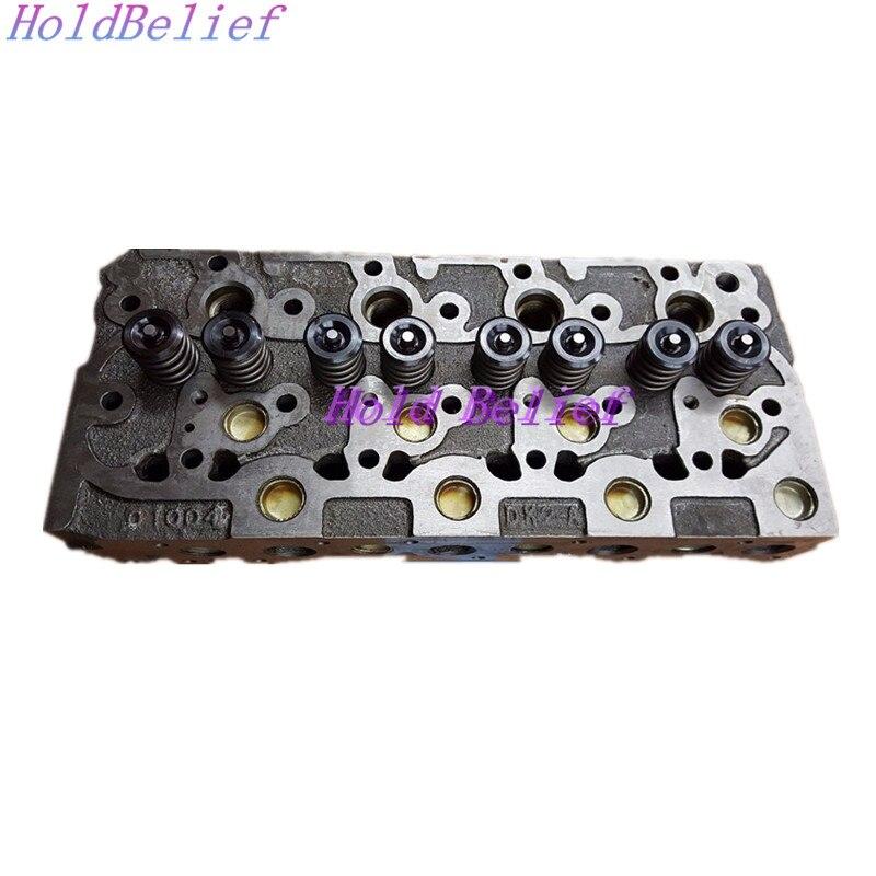 Cylinder Head & Full Gasket Set For Kubota Engine For Bobcat 743 1600 Loader