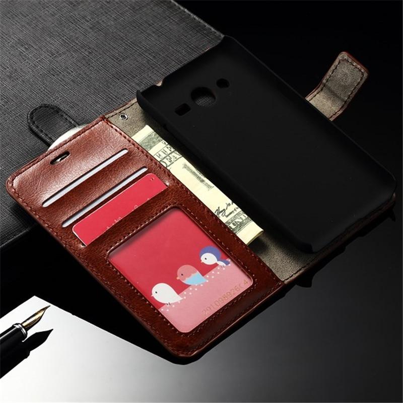 Untuk Samsung SM-G532F Kasus Balik PU Kulit Bingkai Foto Tas Penutup - Aksesori dan suku cadang ponsel - Foto 2