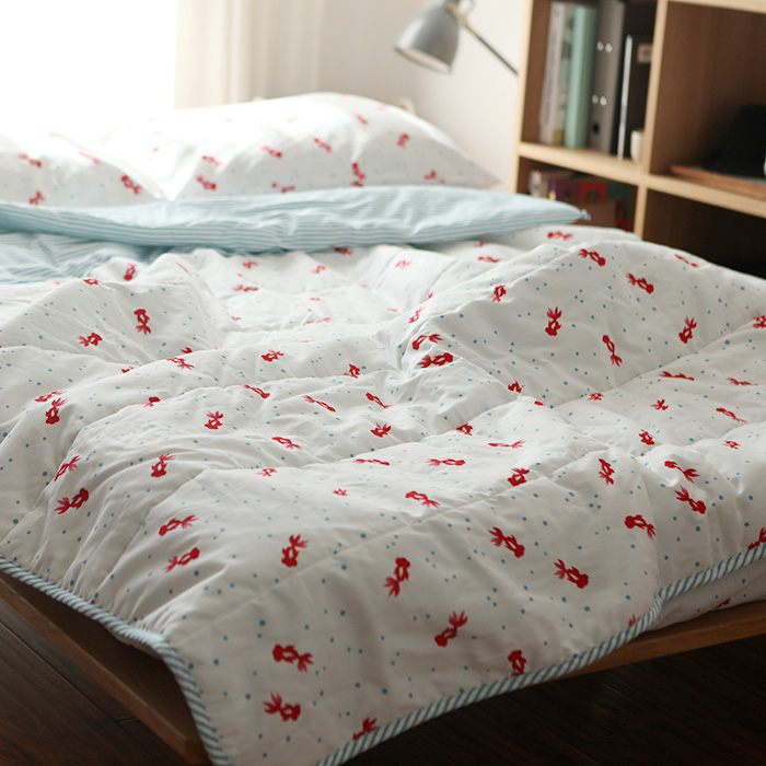 100%Cotton Goldfish Print comfortable bedding set bed clothes 4pcs quilt/bed sheet/pillow case bed cover summer quilt comforter