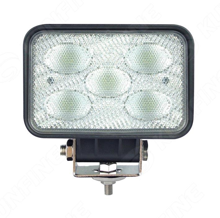 5 7 Inch 50W LED Work Light 12V 30V DC LED Driving Offroad Light For Boat