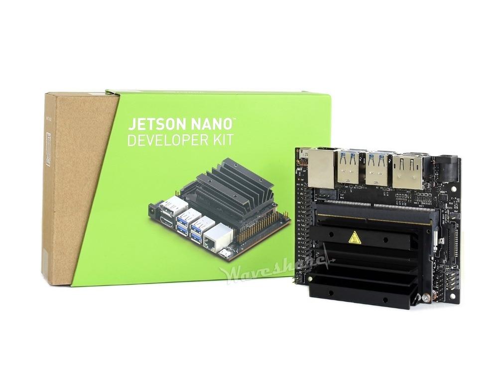 NVIDIA Jetson Nano Developer Kit Pequeno Computador AI 128-core CPU GPU quad-core ARM Cortex-A57 Maxwell 4 GB LPDDR4 64-bit