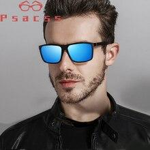 Psacss Square Polarized Sunglasses Men Handsome Driving Mirror Sun Glass Male High Quality Retro Lunette De Soleil Homme Shades