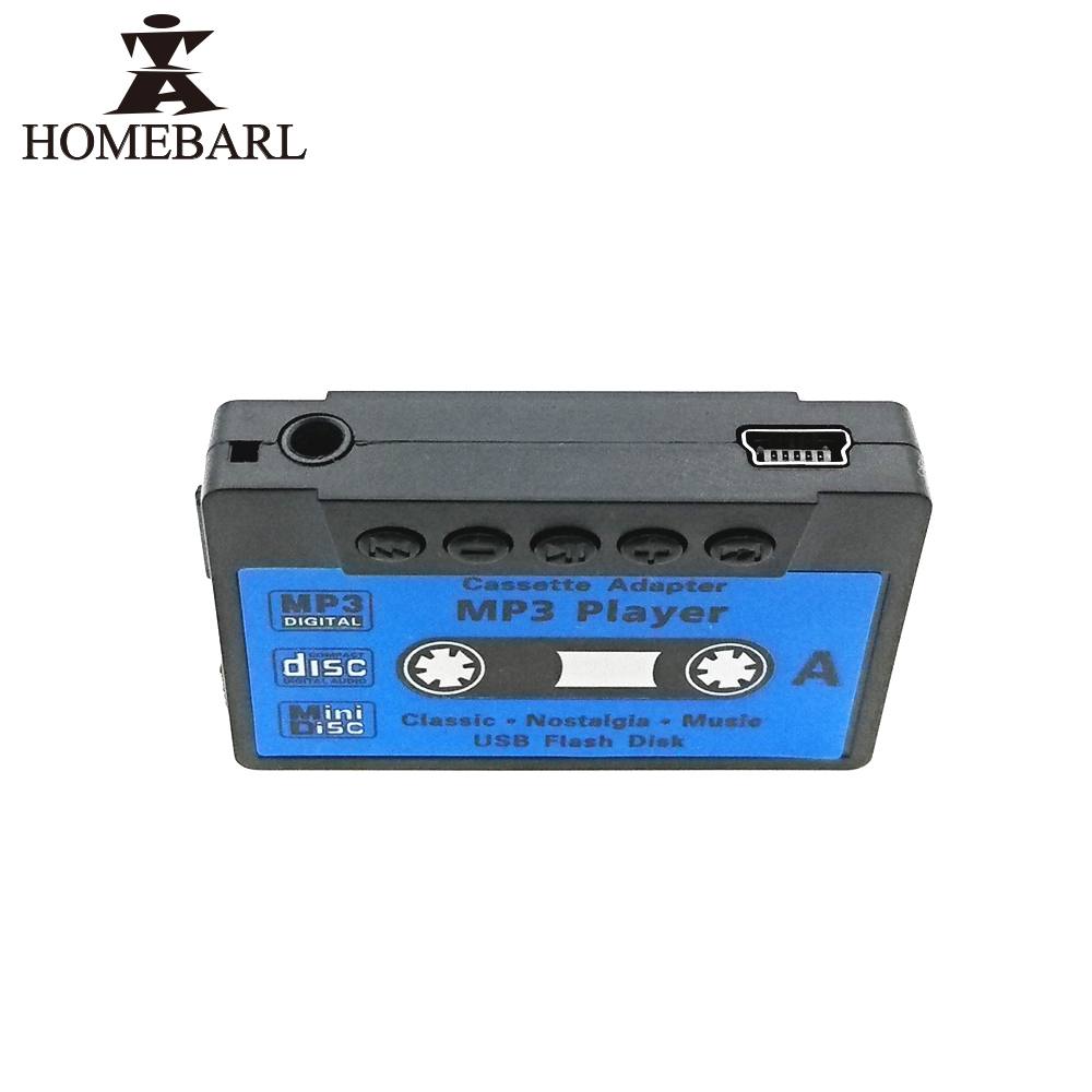 HOMEBARL Classical Lovely Cute Sport Tape MP3 Player With Portable Micro SD/TF Card Slot No FM Radio Kid Childhood Children Gift