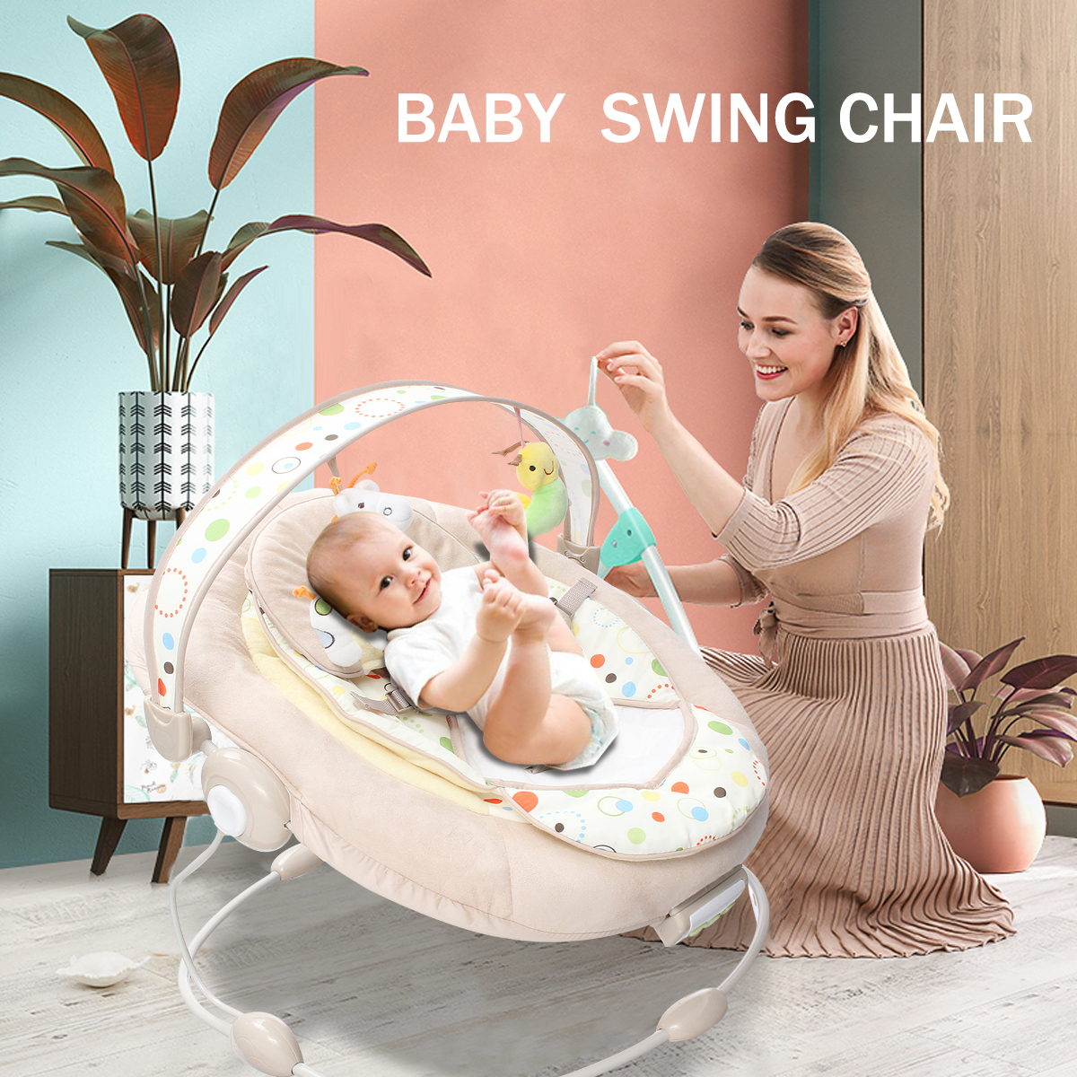 Baby Rocking Chair Musical Vibrating Rocking Chair Adjusting Shaker Cradle With Music Safe Baby Sleeping Basket Chair fashion baby bouncers swings foldable portable electric baby rocking chair with music safe baby sleeping basket