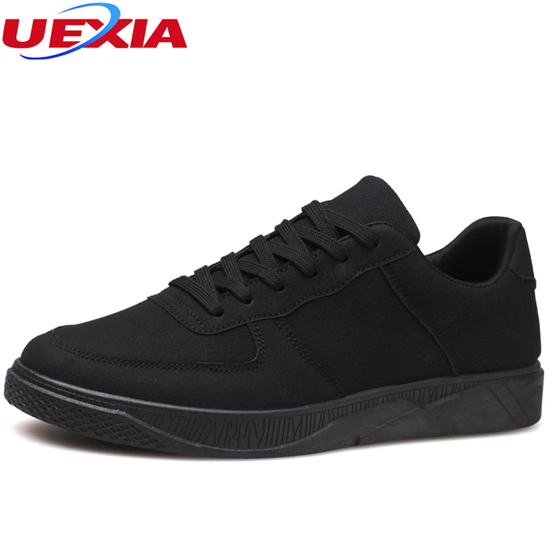 UEXIA Casual Shoes Men Summer Style Flats Casual Comfortable Hot Sale Lace-up High Style Fashion Youth Flats Breathable Fashion fashion style