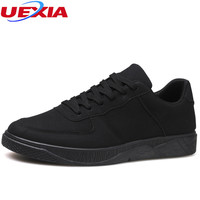 UEXIA Casual Shoes Men Summer Style Flats Casual Comfortable Hot Sale Lace Up High Style Fashion