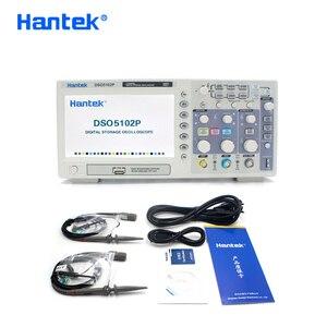 Hantek DSO5102P Digital Storage Oscilloscope Portable USB Osciloscopio Handheld Oscilloscopes 2 Channels 100MHz 1GSa/s 40K(China)