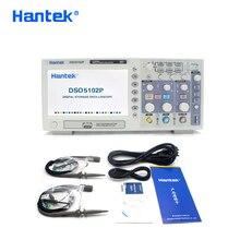 Hantek DSO5102P Oscilloscopio a memoria Digitale USB Portatile Osciloscopio Palmare Oscilloscopi 2 Canali 100MHz 1GSa/s 40K