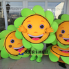 Sunflower Mascot Costume Adult Size Fancy Dress Mascot Costume Fancy Dress Christmas Cosplay for Halloween party event