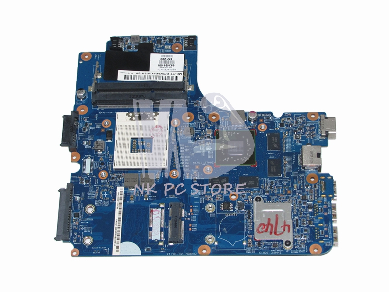 683494-001 Notebook PC Main Board For HP 4540S 4740S 4441s Motherboard System Board HM76 DDR3 HD 7650M 2GB Video Card original 615842 001 motherboard fit for hp cq32 g32 series notebook pc main board 100% working