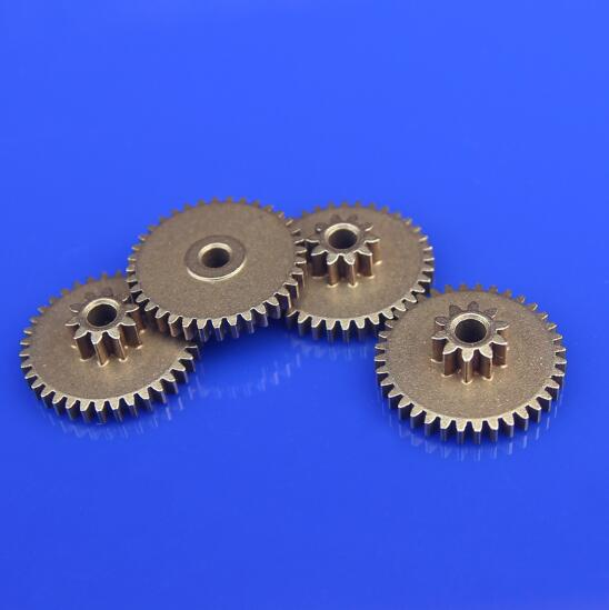 1pcs 0.5M Double Layer Gear Module 0.5/0.6 + 0.5/0.6 Tooth Metal Gears Transmission Unit Accessories