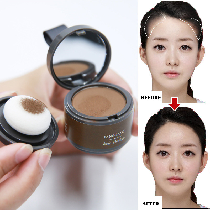 1PC 2 Colors Women Beauty Makeup Hair Repair Powder Modified Hairline Makeup Wat