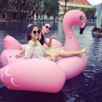 75 inch Giant Swan Inflatable Ride On Pool Toy Float Inflatable Swan Pool Swim Ring Holiday Water Fun Pool Toy