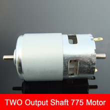 Double Shaft 775 DC Motor Ball Bearing Motor Power Saw Bench Drill Grinding Machine Two Shafts Motor