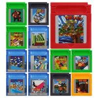 Video Game Cartridge 16 Bit Game Console Card Mari and Donkeyy kong Series