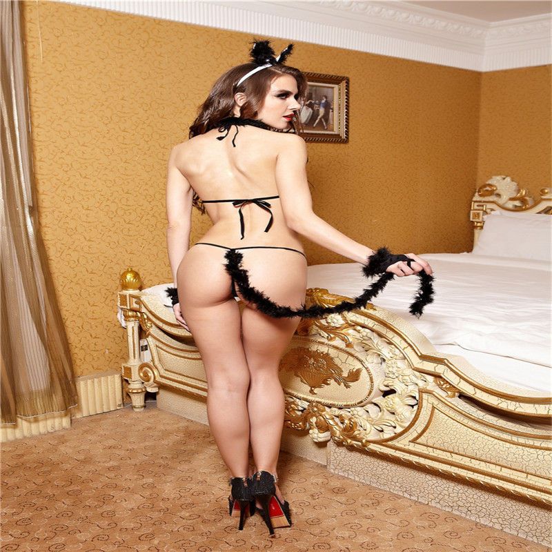 wholesale sexy lingerie Seductive Wear sex costumes for women Bunny  Lingerie porn products free shipping-in Babydolls & Chemises from Novelty &  Special Use ...