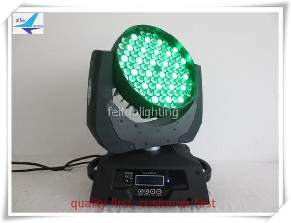 A-(8/lot) LED RGBW 108x3w Moving Head Light stage Lighting Black For Wedding Christmas Birthday DJ Disco KTV