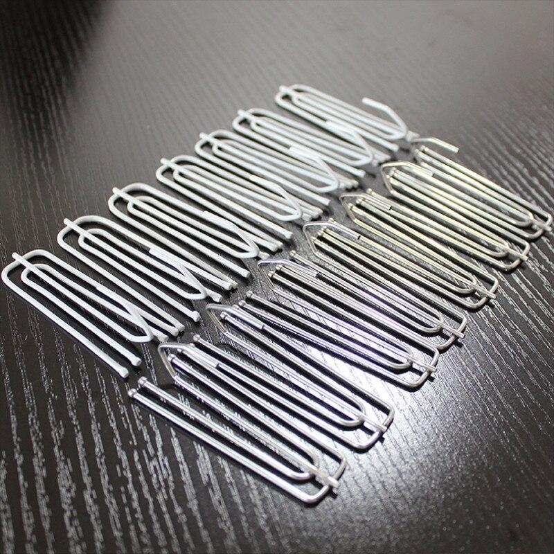 Dikker Gordijn Haken Rvs Gordijn's Houder Vier Claw Iron Klauw Haken Gordijn Accessoires 104a Voor Cortina 100 Stks/partij