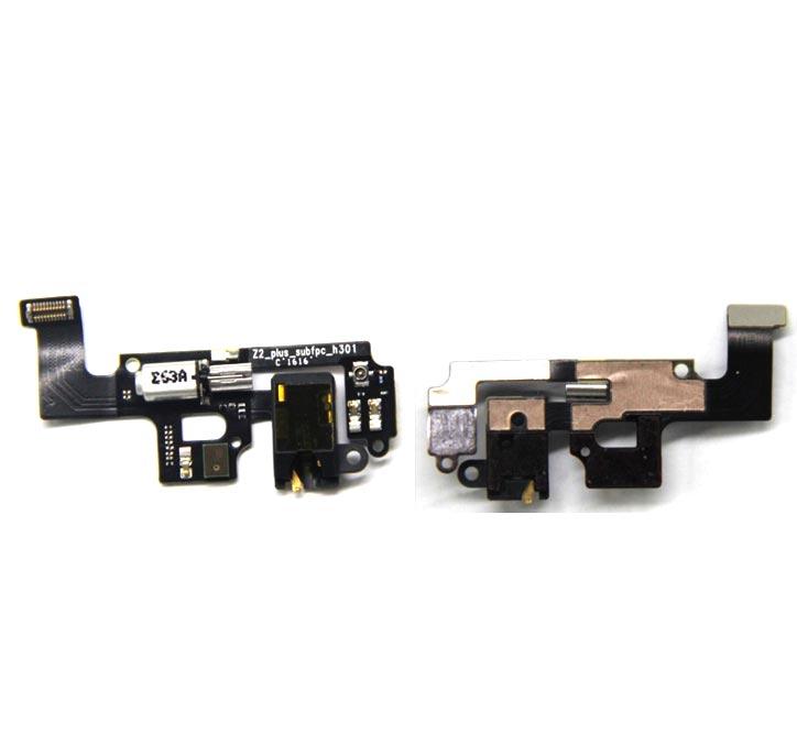 Nouveau Ymitn H Moteur Vibrateur et Casque jack flex câble Pour Lenovo ZUK Z2 Casque câble