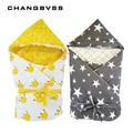 Forro desmontable bolsa de dormir para bebé sobres de algodón para recién nacidos envolver sacos de dormir para niños 90*90 cm manta de cama para bebé swaddle