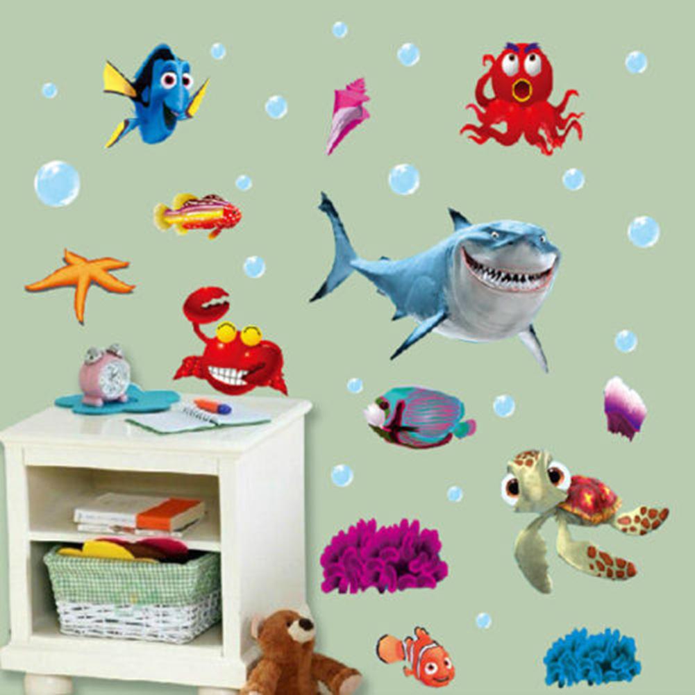 envo libre precioso tropical peces de dibujos animados burbuja de mar ocean world extrable etiqueta de