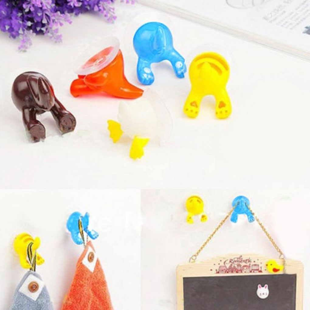 2019 Lovely Cartoon Animal Tail Shape Sucker Kitchen Bathroom Wall Hook Strong Vacuum Suction Cup2019 Lovely Cartoon Animal Tail Shape Sucker Kitchen Bathroom Wall Hook Strong Vacuum Suction Cup