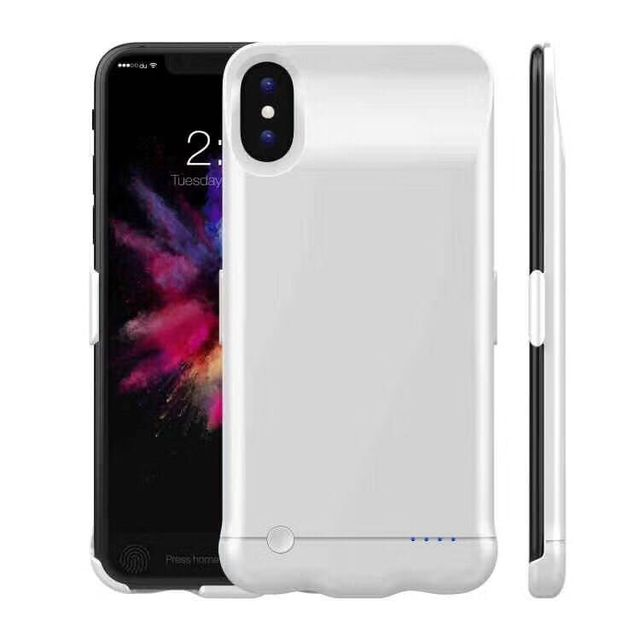 5200mah Power Bank Case Cover For Iphonex Iphone X External Portable Backup Battery Charger Rechargeable Powerbank Phone Cases Cover For Cover Coverscovers For Cases Aliexpress