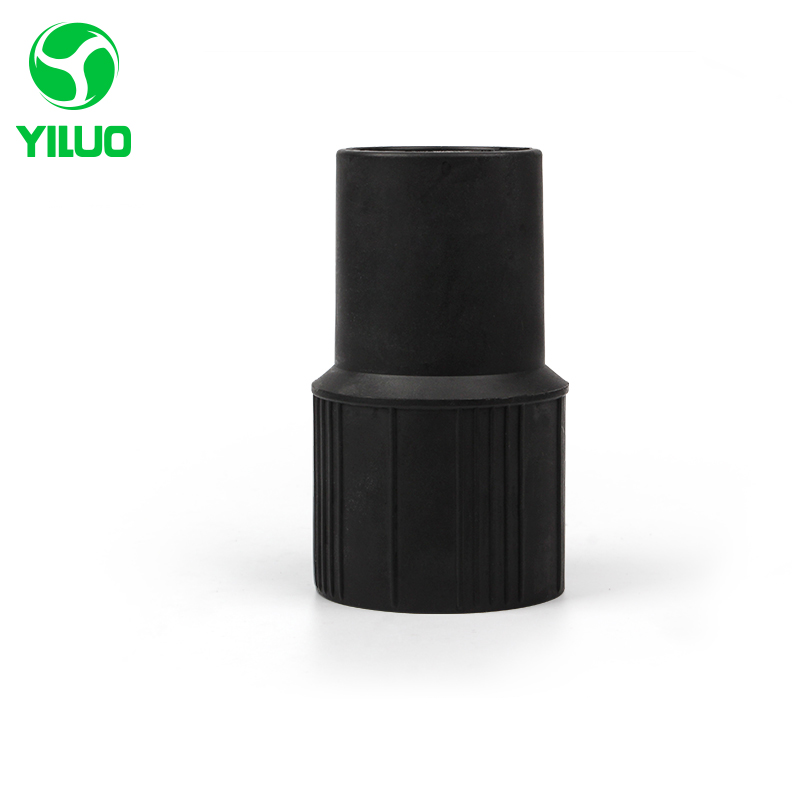 цена на Black Vacuum cleaner Connector inner diameter 38mm PP Plastic Connector for all inner diameter 40mm, outer diameter 48mm hose