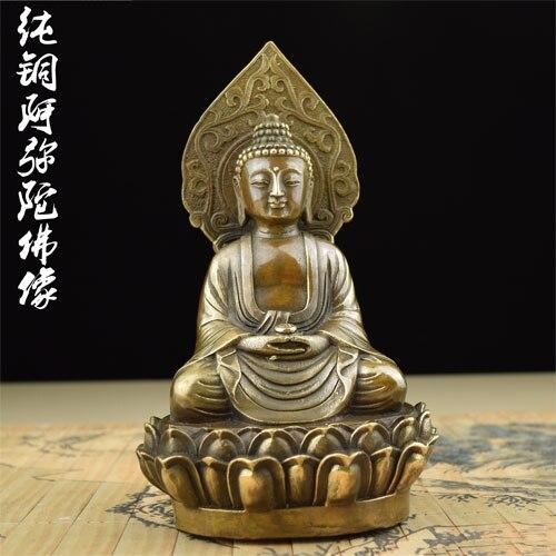 Amitabha Amitabha antique brass copper Buddha Medallion Buddha Buddha sitting on the lotus TalismanAmitabha Amitabha antique brass copper Buddha Medallion Buddha Buddha sitting on the lotus Talisman