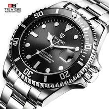 Tevise Men's Watches Top Brand Quartz