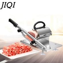 JIQI ломтерезка для мяса ягненка ручной коммерческий толстяк крупного рогатого скота баранины рулон строгальная машина замороженная мята Мясорубка кухонный овощной нож