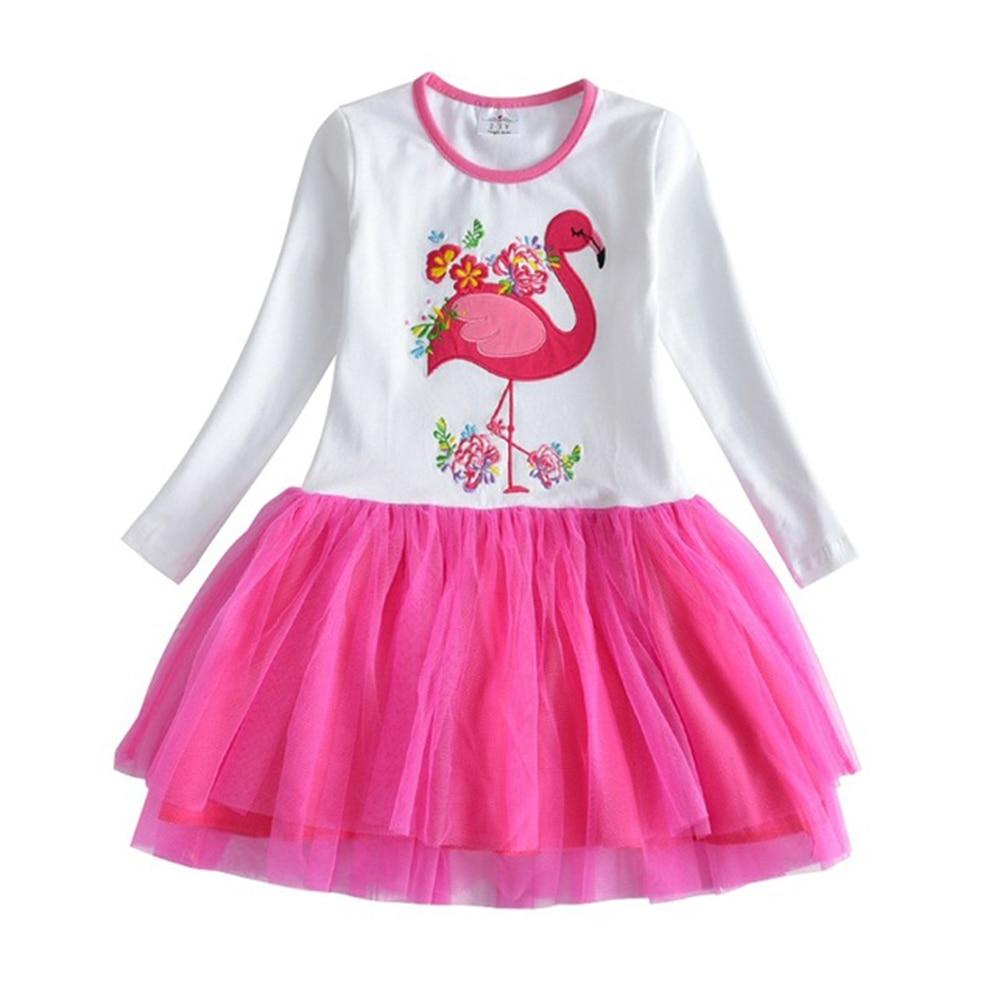 HTB1N1FhQrvpK1RjSZPiq6zmwXXaz VIKITA Girls Dress Long Sleeve Kids Flower Dresses Children Unicorn Vestidos 2019 Girls Dresses Autumn Kids Dress For Girl