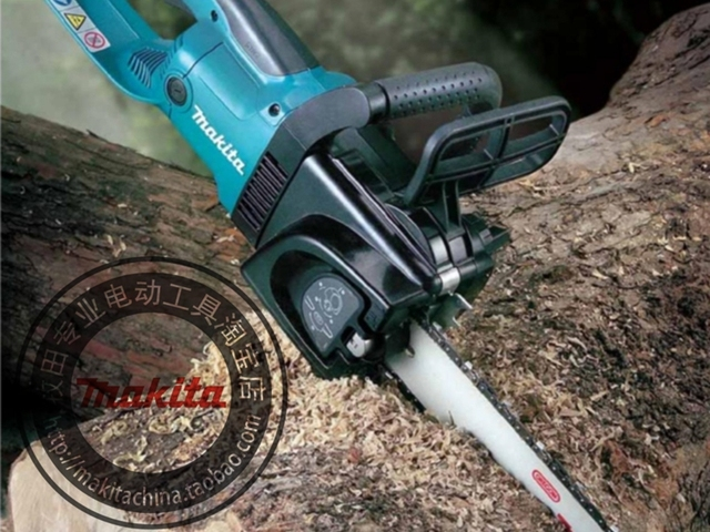 """Makita UC4030A electric chain saw 1800W Speed (per minute) 800m (2600mft) Chain gear 3/8 Automatic function prevents oil spill """" 2"""