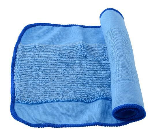 9 pcs/Lot Blue Wet Microfiber Mopping Cloths for iRobot Braava 380 380t 320 Mint 4200 4205 5200 5200C Robot replacement blue wet microfiber mopping cloths for irobot braava 380 380t 320 mint 4200 4205 5200 5200c floor mopping robot