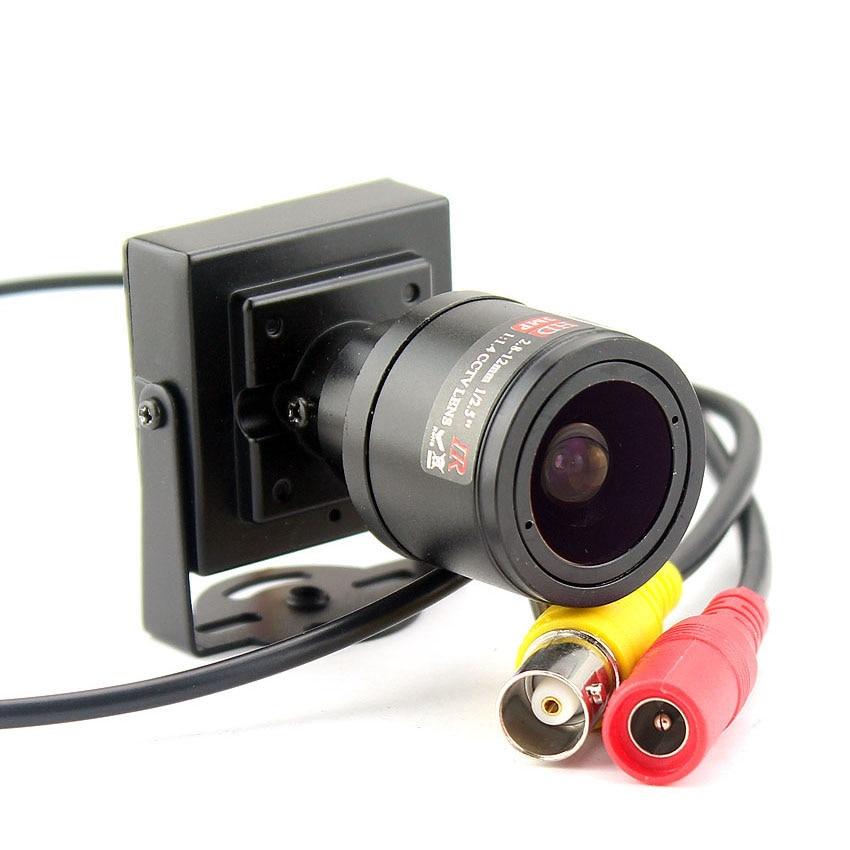 Image 3 - 1000TVL Varifocal Lens Mini Camera 2.8 12mm Adjustable Lens+RCA Adapter Security Surveillance CCTV Camera Car Overtaking CameraSurveillance Cameras   -