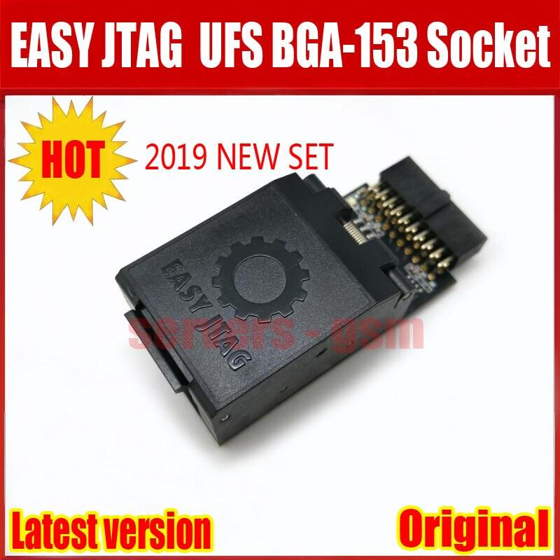 2019 Newest ORIGINAL Easy-Jtag Plus UFS BGA-153 Socket Adapter with EASY  JTAG PLUS BOX work