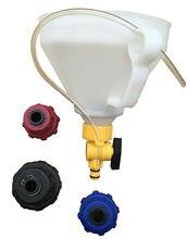 4Pcs Coolant Filling Refill Cooling System Bleeding Professional Tool Set Kit