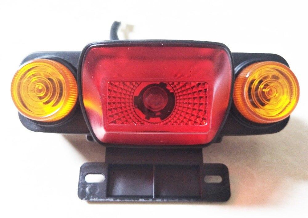 Brake Service Coupons >> Universal Voltage 12V 24V 36V 48V 60V Tail Light Turn Signal Rear Lamp Brake Light Ebike Scooter ...