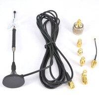 4G Antenne 10dbi LTE Antenne Magnétique pour 4G lte FDD/TDD + RF adaptateur SMA Femelle à N mâle CRC9 TS9 RP SMA Mâle ipx