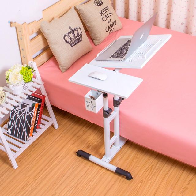 Moda promoção simples casa moderna rotativa cama notebook computador mesa do computador na cama preguiçoso frete grátis