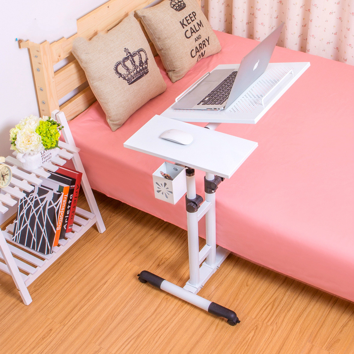 Promotion Fashion Simple Modern Household Rotary Bed Notebook Computer Lazy  Computer Desk On Bed Free Shipping