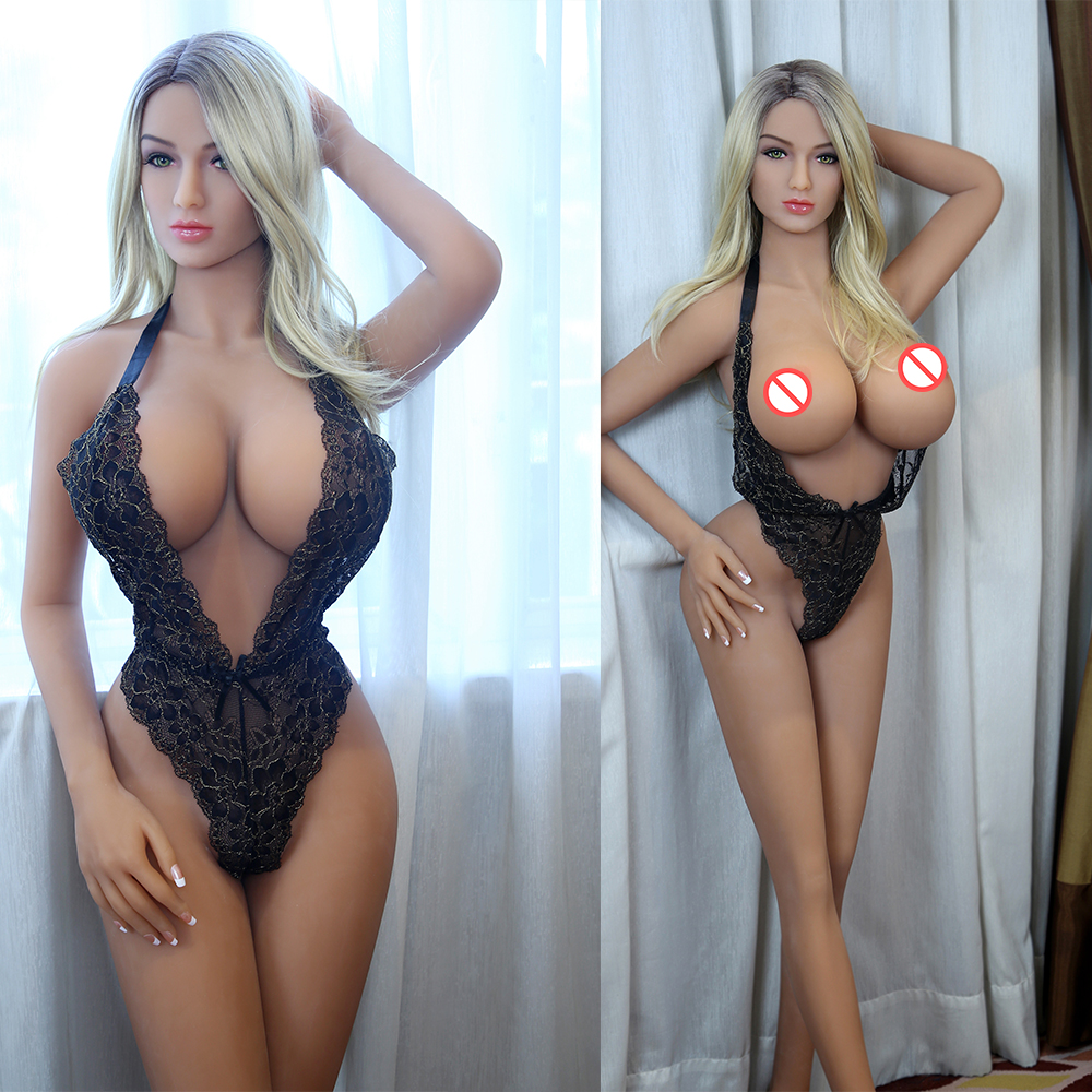 Hot sale <font><b>158cm</b></font> <font><b>Sex</b></font> <font><b>Doll</b></font> Real Silicone Love <font><b>Dolls</b></font> Lifelike big Breasts boobs Vagina Anal Metal Skeleton <font><b>Sex</b></font> <font><b>Doll</b></font> image