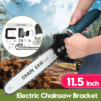 11.5 Inch Electric Saw Electric Chainsaw Bracket Set 100 Angle Grinder Stand Chain Saw Woodworking Cutting Tools Power Tool