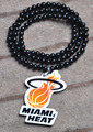 Fashion Jewelry MIAMI HEATY Hip Hop Long Beads Chain Charm Pendant Necklace Good Wood Hiphop Necklace Jewelry