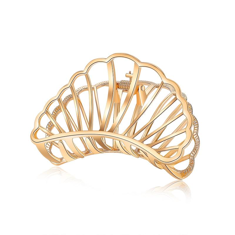 New Fashion Hair Claws for Women Hair Barrette Hairpin Crab Metal Hair Claw Clips for Women Hair Accessories   Headwear   Ornament