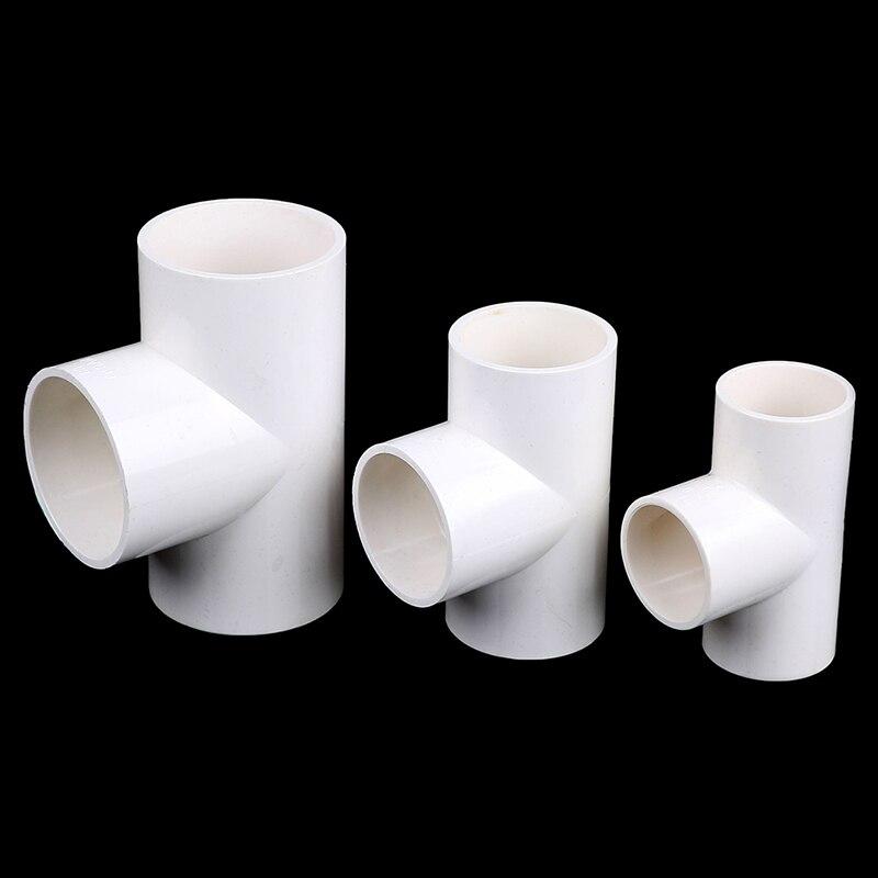 1Pc 3 Ways PVC Water Pipe Tube Adapter Connectors 40mm/50mm/63mm Diameter