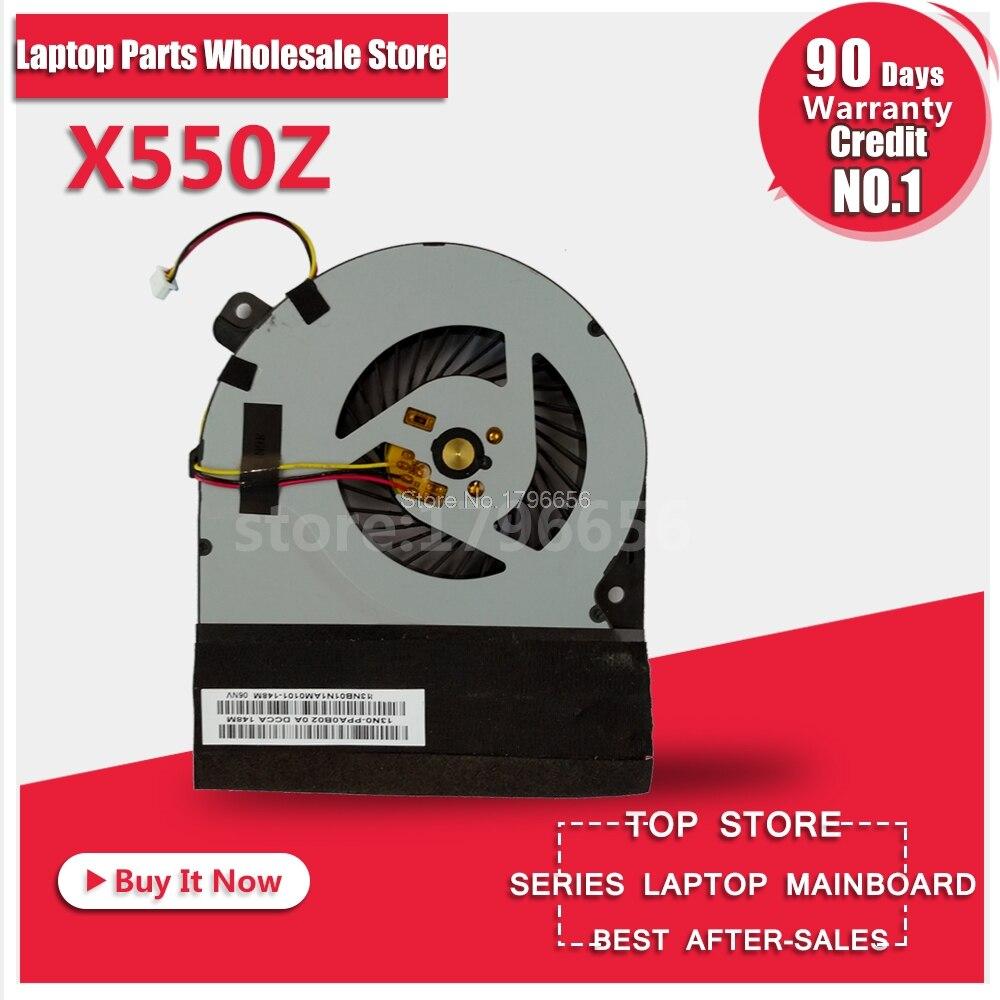 New Cooling fan for ASUS VM590Z X550Z X550ZE K555Z A555Z X555Z K550Z X550ZA cpu fan New laptop cpu cooling fan heatsink