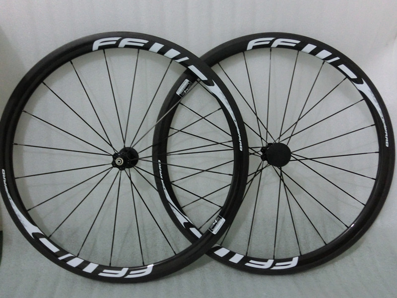 100% duty free Front 38mm carbon wheels rear 38mm carbon clincher wheels 700c road bike wheels carbon wheelset 700C road bicycle